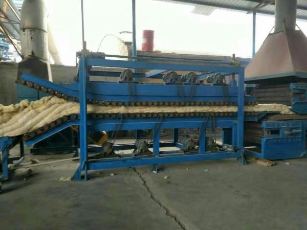 岩棉板条生产线工艺